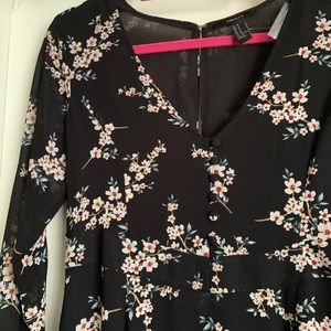 Women's Long Sleeved Dress